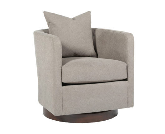 Toronto Swivel Chair Custom Upholstered Made in Canada