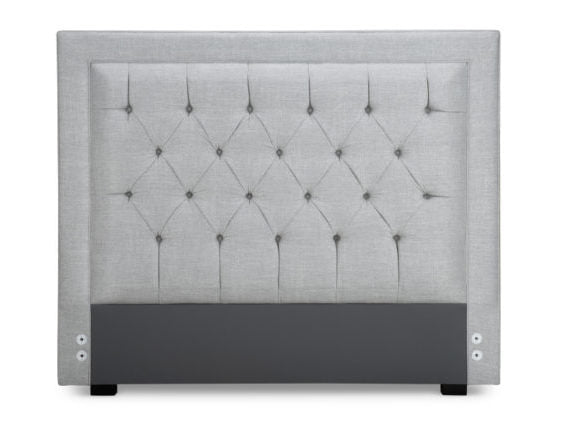 Toronto Headboard Bed Custom Upholstered Made in Canada