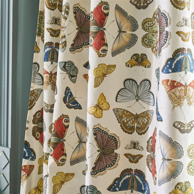 Mirrored Butterfly Fabric