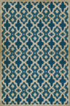 Schoolhouse Vinyl - Fretwork Blue - Quick Ship