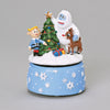 Musical Rudolph Rotating Musical Figurine