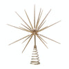 Gold Burst Tree Topper with Spikes