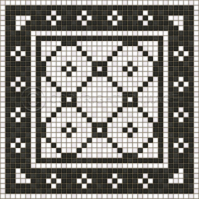Schoolhouse Vinyl - Aller Mosaic (Square, Rectangle)