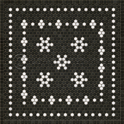 Schoolhouse Vinyl - Belmont Mosaic (Square, Rectangle)