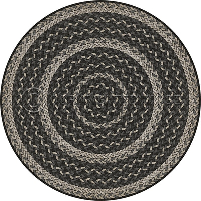 Schoolhouse Vinyl - French Braid (Round, Racetrack Oval)