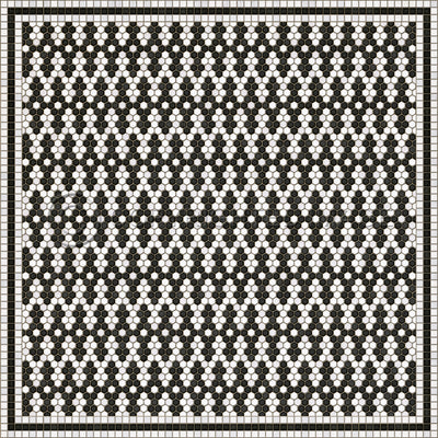 Forrest Mosaic (Square, Rectangle)
