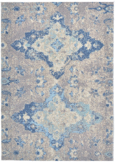 Grenoble Area Rug - Blue