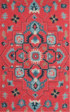Jonas Red Indoor/Outdoor Rug