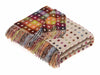 Multiclour Polka Dot Throw