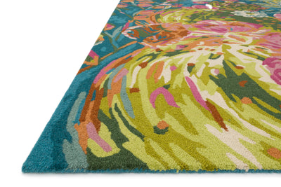 Ocean / Multi - Wild Bloom Rug
