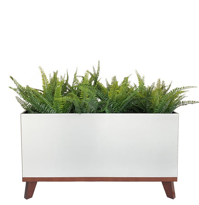 Madeira Rectangle Planter with Base