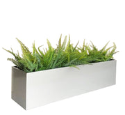 Madeira Trough Window Box Planter 3 Feet Long Metal Aluminum