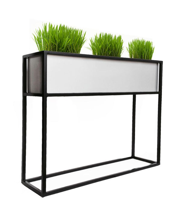 Madeira Barrier Planter by NMN Designs | Raised Planter for Indoors and Outdoors, Patio, Beer Garden Barrier, Commercial and Residential