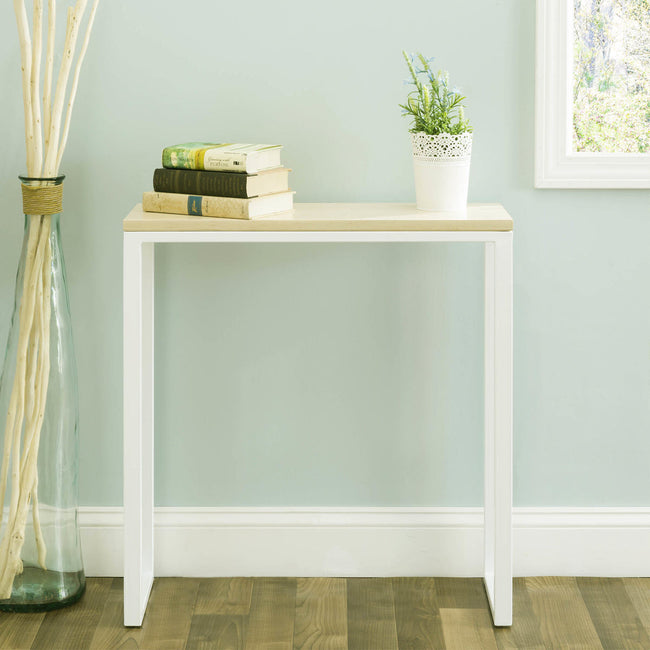 NMN Designs Ciocco Console Table White