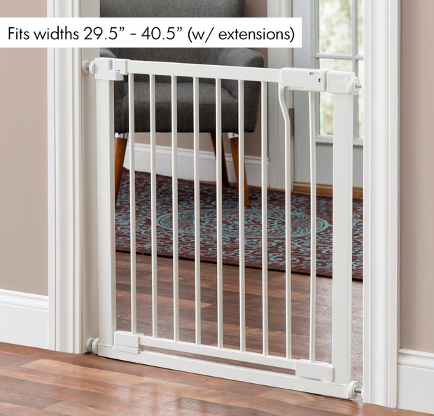 Isabelle Extandable Tension Dog Gate from 29 to 40 Inch width