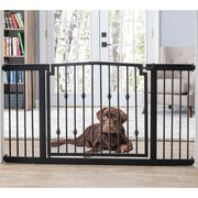 Emperor Rings Extra Wide Dog Gate for Inside Heavy Duty NMN Designs