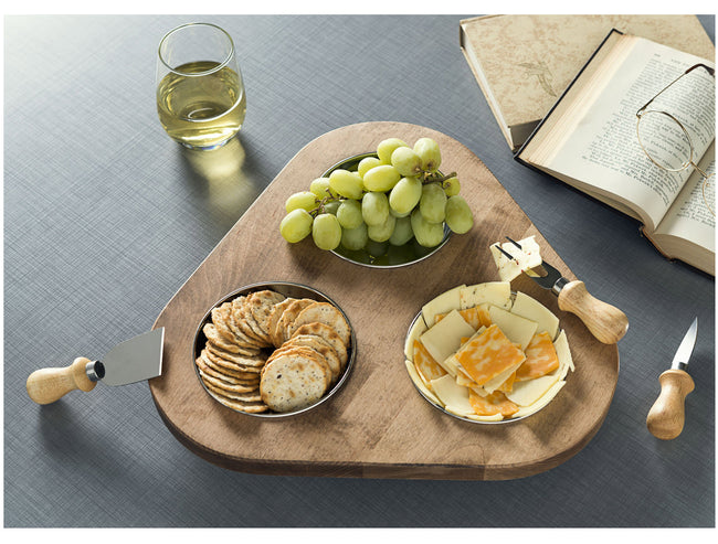 NMN Designs Fayette Lazy Susan Modern Decor