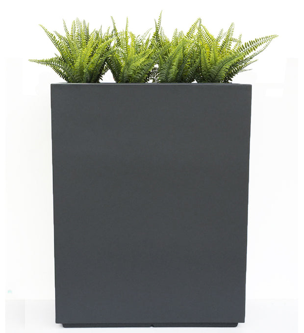 NMN Designs - Hamilton Extra Large Vertical Planter - Tall, Gray Indoor Outdoor