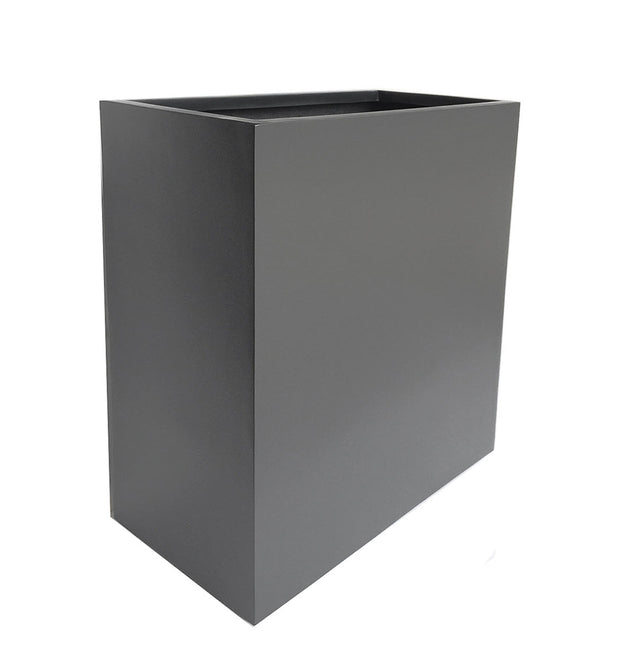 NMN Designs Hamilton Planter - Extra Tall, Gray Plant Container Box