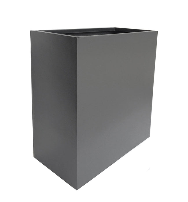 NMN Designs Hamilton Planter - Tall, Gray Plant Container Box