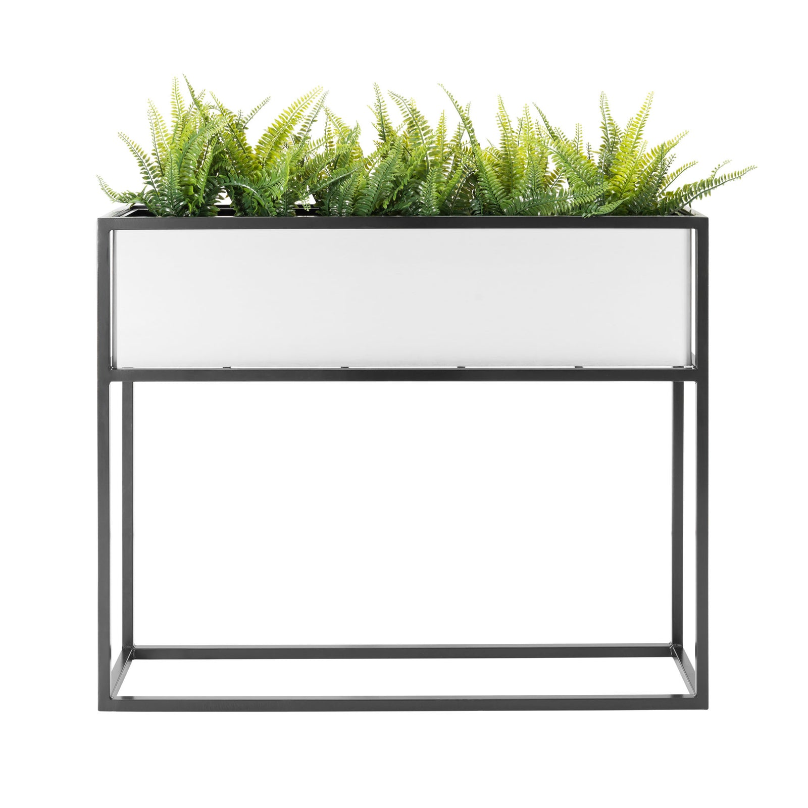 Madeira Barrier Planter - Metal, Steel Plant Container, Patio Divider, Planter for Beer Garden