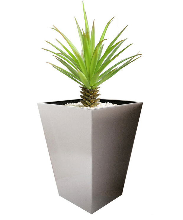NMN Designs Madeira Conica Stainless Steel Planter