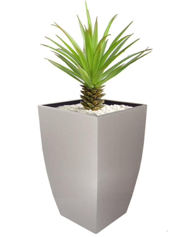NMN Designs | Madeira Cubica Stainless Steel Planter