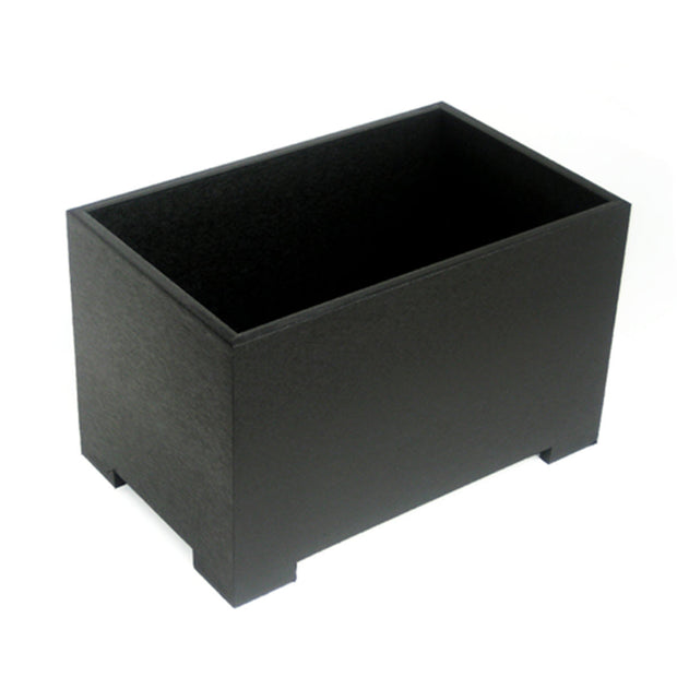 NMN Designs Eco Planter Black Rectanglular Planter