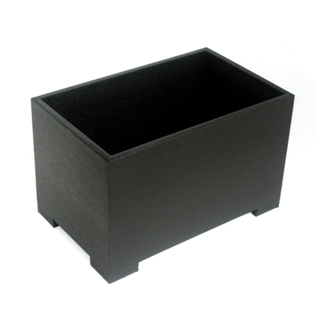 NMN Designs Eco Planter Black Rectanglular