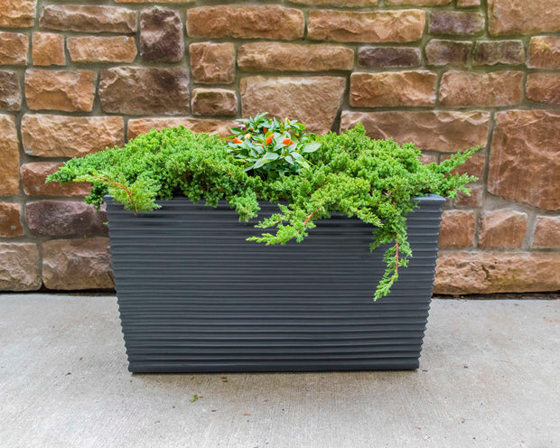 NMN Designs Winona planter Grey