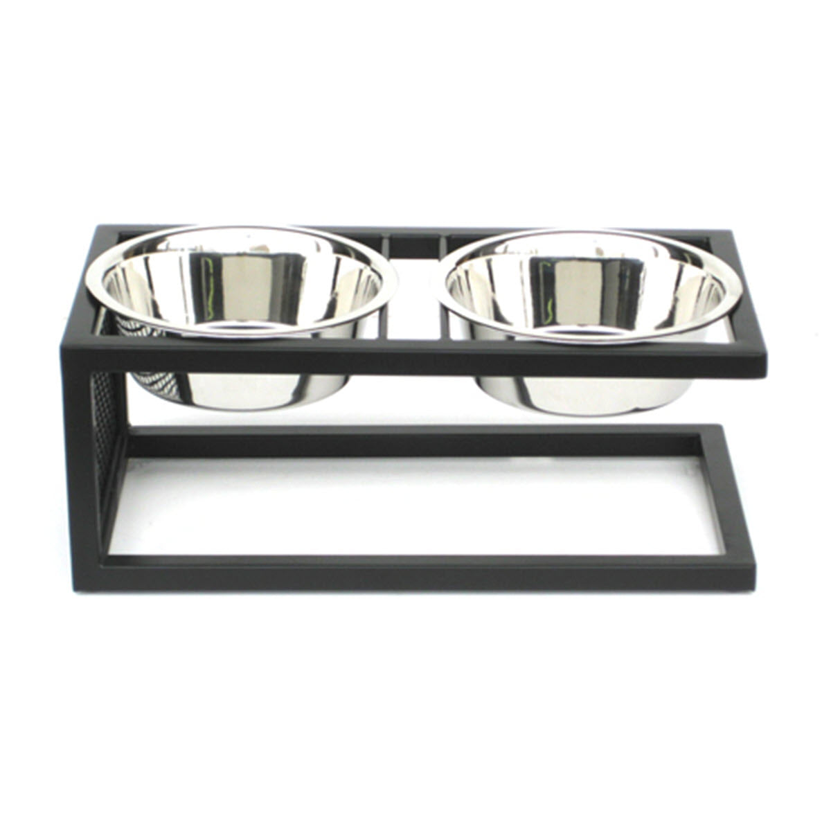 NMN Designs Canteliever Elevated dog Bowls Raised Dog Feeder Stand