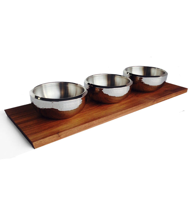 Ciocco Tray & Three Bowl Setting