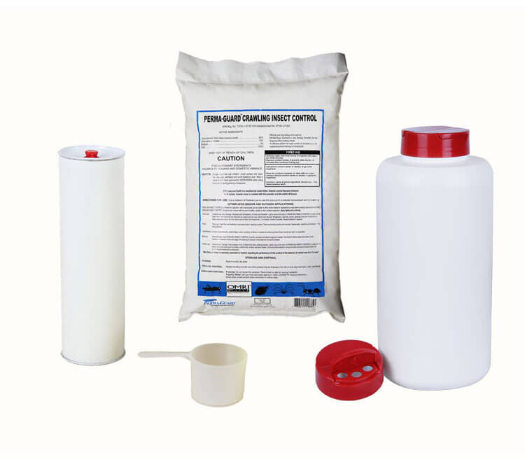 4 pc Diatomaceous Earth Pest Control Kit