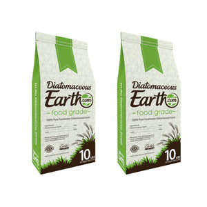 10 lb Food Grade Diatomaceous Earth - 2 Pack