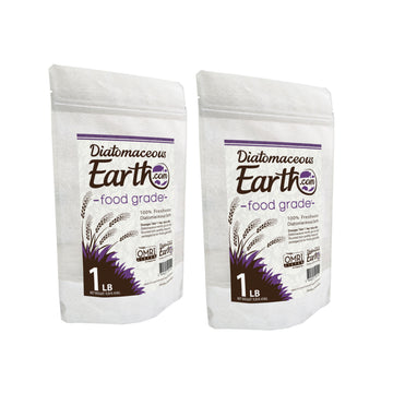 1 lb Food Grade Diatomaceous Earth - 2 Pack