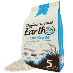 5 lbs Food Grade Diatomaceous Earth