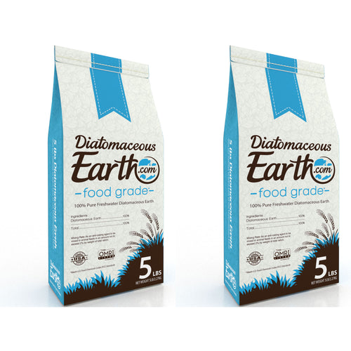 5 lb Food Grade Diatomaceous Earth - 2 Pack