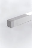 2 Square strip 62 wall/ceiling FLU 28W G5/T5 HE Aluminum
