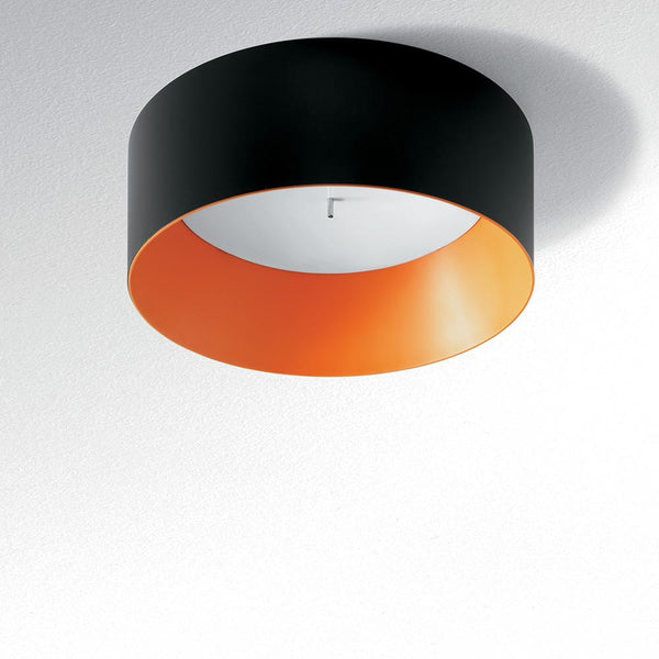 Tagora 570 ceiling CFL black/orange