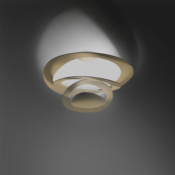 Pirce mini ceiling LED 2-wire dimming gold
