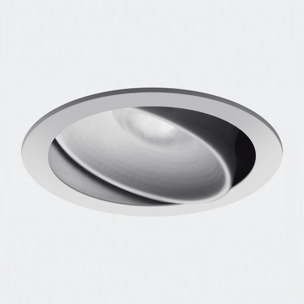 Parabola 100 ceiling recessed LED wide flood dimmable 2-wire Grey