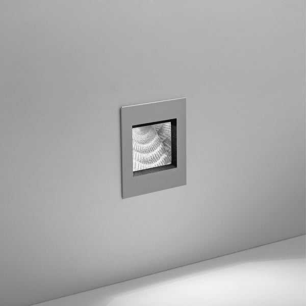 Aria mini wall recessed 4W Aluminum