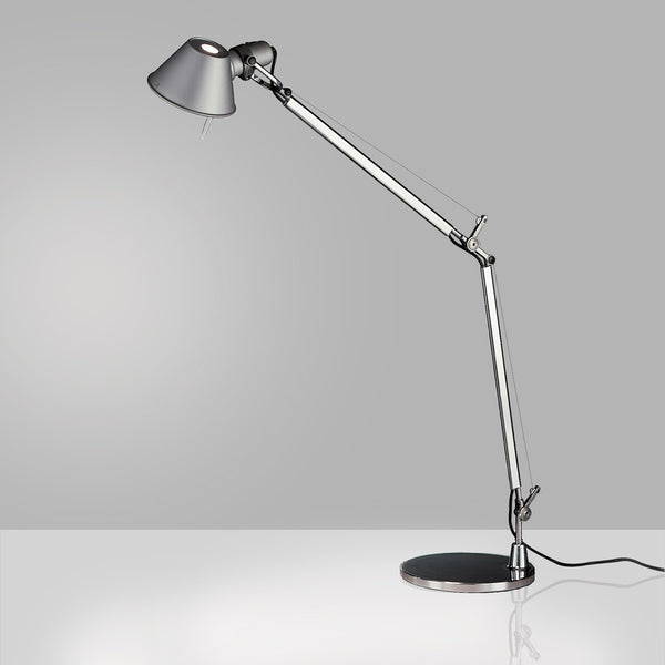 Tolomeo classic LED w/motion sensor table with base - Aluminum