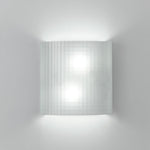 Facet wall Fluorescent 2X13W Grid Glass