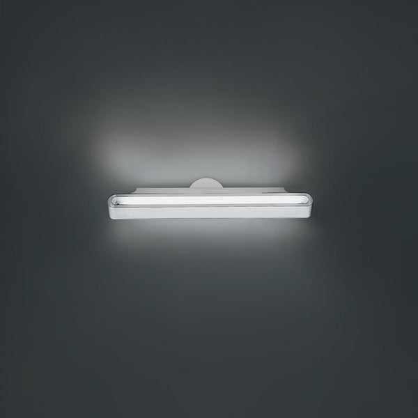 Talo 90 Fluoresecent 39W wall silver grey