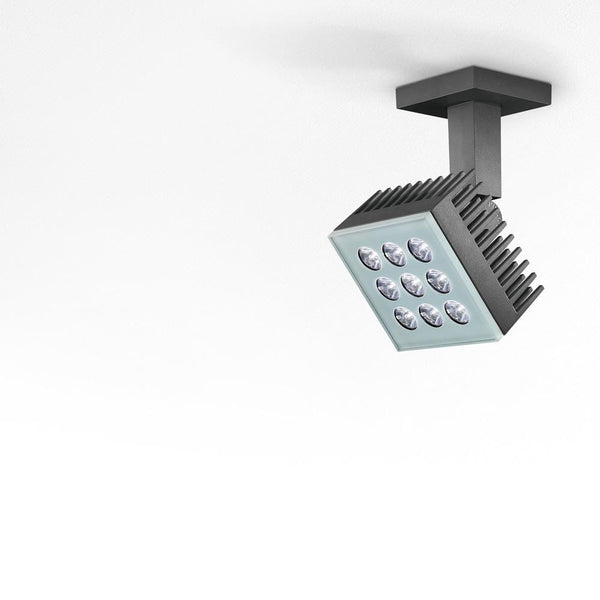 Falange 9 wall/ceiling/floor LED 22W 3000K 6°x45°
