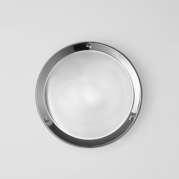 Niki wall/ceiling LED 11W 3000K w/prismatic glass diffuser