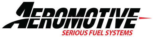 Aeromotive Serious Fuel Systems Brand Banner