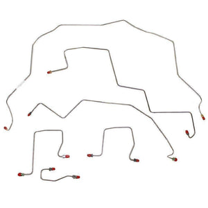 98-01 Dodge Ram 2500 Brake Lines & Hose Kit 4WD Ext Cab/Long Bed RWABS Non Duall - Modern Day Muffler