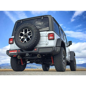 2018-2020 Jeep Wrangler JL Axle-Back Exhaust System Flowmaster Force II 817841